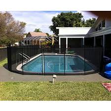Gli Ne180f 4 Feet By 12 Feet Safety Fence For In Ground Pools Pool Safety Swimming Pool Safety Pool Safety Fence
