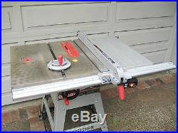 Sears Craftsman 10 Table Saw Upgraded Aluminum Align A Rip 24 12 Fence System Table Saw Fence
