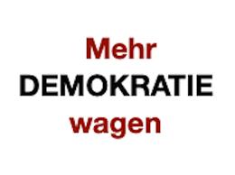 Bildergebnis für Mehr Demokratie