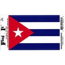 Cuba Flag Car Decal Sticker Pack Of 2 Red White Blue 3 25 X 4 75 Walmart Com Walmart Com