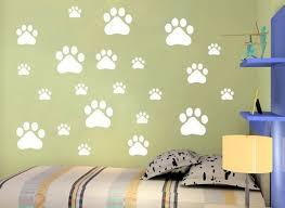 Removable Footprint Wall Stickers Scenery Wallpaper Mural Art Pvc Vinyl Home Decoration Little Bear Tracks Wall Decal 2 8tm J R Wall Stencils And Decals Wall Stencils Stickers From Qiansuning88 3 13 Dhgate Com
