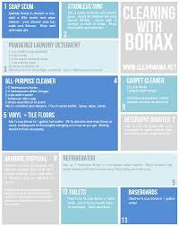 cleaning with borax 11 simple recipes