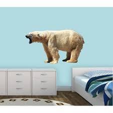 East Urban Home Polar Bear Wall Decal Wayfair