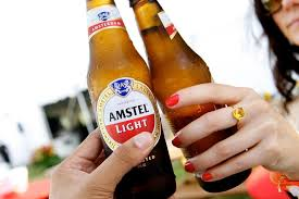 amstel light from the healthiest beers