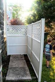 How To Hide Your Trash Can 30 Minute Project Christina Maria Blog Outdoor Trash Cans Hide Trash Cans Privacy Fence Designs