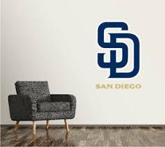 San Diego Padres Wall Decal Logo Baseball Mlb Art Sticker Vinyl Large Sr74 Ebay