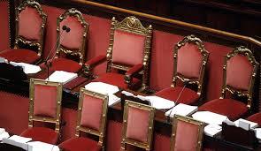 Risultato immagini per immagine di poltrone parlamentari