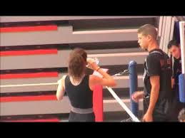 Adeline May quart finale france cadet lille 2011 - YouTube