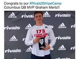 Graham Mertz claims MVP at Rivals camp ...