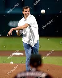 Arizona Diamondbacks Hall Fame pitcher Randy Johnson Editorial ...