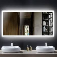 led mirror lighted mirror mirrors with