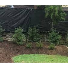 Shop Aleko 6 X50 Black Fence Privacy Screen Mesh Fabric With Grommets 50 Feet Long X 6 Feet Tall Overstock 17847760