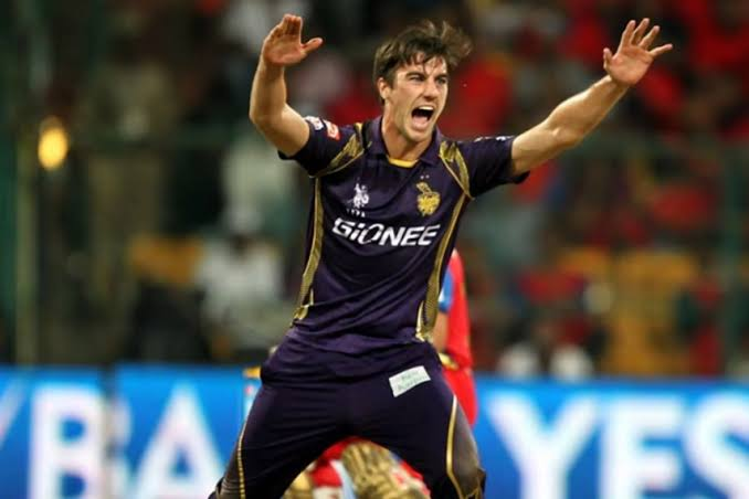 Image result for pat cummins kkr""