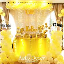 Dịch Vụ Trang Trí Tiệc Thôi Nôi Sinh Nhật - Xeko Decor - Posts ...