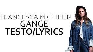 Gange - Francesca Michielin feat. Shiva