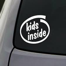 Exterior Accessories Bumper Sticker Baby On Board Vehicle Decal Sticker Kids Inside Exterior Accessories Automotive