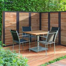 Outdoor Essentials 2 Ft X 6 Ft Pressure Treated Dura Color Sonoma Wood Fence Panel With Black Frame 311444 The Home Outdoor Panels Fence Panels Wood Fence