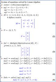 linear algebra book chapter iopscience