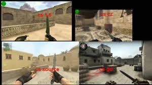 CS 1.6 vs CS: CZ vs CS:S vs CS:GO ...