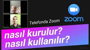 Telefona Zoom nasıl kurulur ve nasıl kullanılır - YouTube