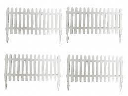 Plastic Picket Fence Panels X4 Securefix Direct