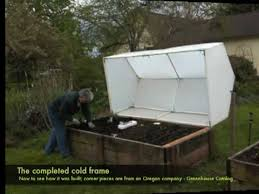 building the cold frame you
