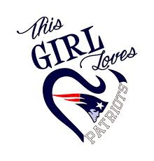 This Girl Loves New England Patriots Svg File New England Patriots Logo Patriots New England Patriots