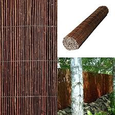 Willow Screening 2m High X 4m Long Roll David Musson Fencing