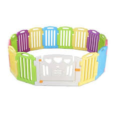 Cuddly Baby 15 Panel Plastic Baby Playpen Kids Toddler Fence