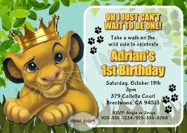 Lion King Simba Birthday Party Cumpleanos Rey Leon Simba Rey