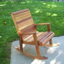 outdoor wooden rocking chair plans 2