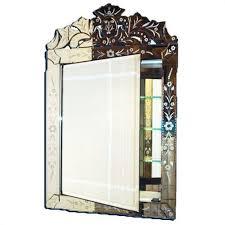 venetian glass medicine cabinet