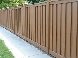 Wood Garden Fence 8 Feet High Horizontal Wood Composite Fence Panels Wood Fence Design Backyard Fences Fence Design