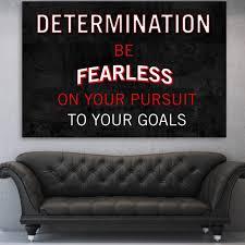 Determination Definition Canvas Inspirational Wall Art Zapwalls