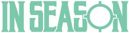 In Season Logo Vinyl Decal Mint In Season Apparel