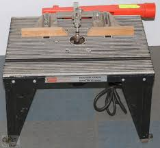 Sears Craftsman Router Table And Router
