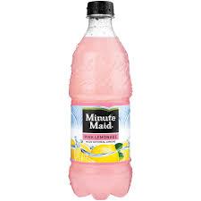 minute maid pink lemonade 20 fl oz