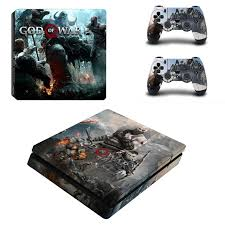 God Of War 3 Full Cover Faceplates Ps4 Slim Skin Sticker Decal Vinyl For Playstation 4 Console Controller Ps4 Slim Sticker Consoleskins Co