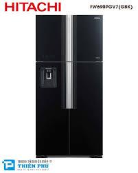 Tổng đại lý phân phối Tủ Lạnh Hitachi Inverter FW690PGV7(GBK) 4 Cánh Dung  Tích 540 Lít giá rẻ nhất
