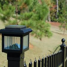Polaris Mini Solar Post Cap Light For 2x2 Metal With Post Bright Or Warm White Leds