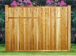Good Neighbor Milford Cedar Fence 6ft H X 8ft Wide Pre Built Finished On Both Sides Cedar Fence Fence With Lattice Top Good Neighbor Fence