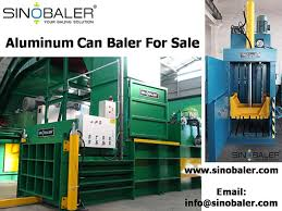 aluminum can baler aluminum