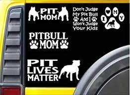 Amazon Com Ez Stik Value Pack Pitbull Decals M146 Pit Bull Sticker American Bully Pit Bull Window Decal Automotive