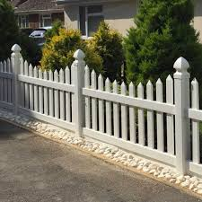 Scalloped 6 Ft W X 3 Ft H Picket Fence Panel Simple Fencing Simplefencing Co Uk