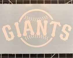 Sf Giants Decal Etsy