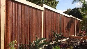 Bamboo Fence Mahogany 1 X 8 X 8 Sunset Bamboo