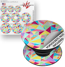 Decal Style Vinyl Skin Wrap 3 Pack For Popsockets Brushed Geometric Popsocket Not Included By Wraptorskinz Walmart Com Walmart Com