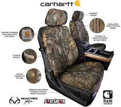 covercraft carhartt realtree camo seat