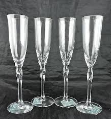 lenox crystal champagne flute rhythm