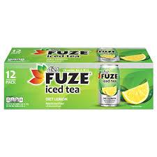 fuze t lemon iced tea 12 oz 12 pk